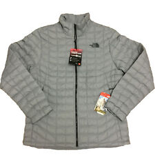 North Face Men's Thermoball Insulated Water Resistant Jacket Monument Grey Large