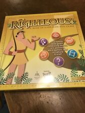 Righteous! A Book of Mormon DVD Family Game LDS Scripture Trivia New Sealed
