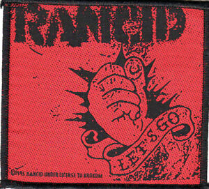 Rancid - Let's Go sew on patch
