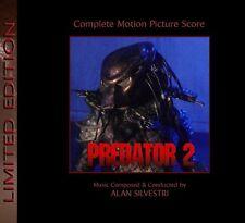 Predator 2  - 2 x CD Complete Score - Limited 1000 - Alan Silvestri