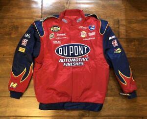 Jeff Gordon #24 Dupont Flames Specialty Racing Jacket Mens X Large NASCAR Rare