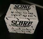 Panini Score NFL 2021 Fat Pack Box mit 480 Football Trading Cards SammelkartenOVP Trading Card Displays - 261332