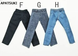 High Quality 1/6 Doll Clothes Jeans Pants For Ken Doll Trousers For 11.5in Doll