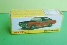 DINKY TOYS ATLAS OPEL COMMODORE REF1420 NEUF EN BOITE JAMAIS OUVERT ech1/43