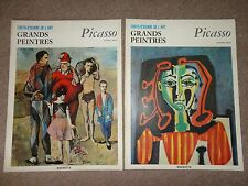 Picasso art book grands peintres chef-d'oeuvre l'art Picasso 28 29 livre 1966