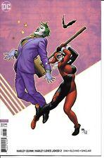 DC Comics HARLEY LOVES JOKER #2 first printing cover B