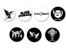 Lot Pack Badge Button Ø25mm Black Sabbath Rock Heavy Metal UK War Pigs