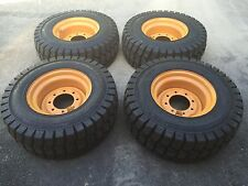 12-16.5 Galaxy Trac Star Skid Steer Tires/Wheels/Rims for Case XT & 400 series