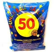 50x Large Punch Balloons Kids Birthday Party Bag Pinata Fillers Toy
