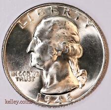 1946 Washington Silver Quarter BU