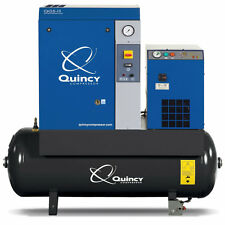 Quincy QGS 10-HP 120-Gallon Rotary Screw Compressor w/ Dryer