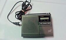 Radio Shack Noaa 7 Channel Weather Alert Weatheradio Works Model 12-250