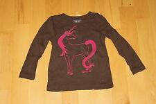Shirt in Braun-Rosa von Esprit Größe:92/98 (Top Zustand)