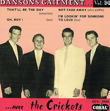 BUDDY HOLLY - DANSONS GAIEMENT Vol 14 (New 2015 re-issue of original French EP)