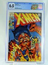 X-Men #51 CGC 6.5 1st Cameo Erik the Red Magneto & Polaris (W/OW) Marvel Comics