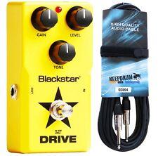 Blackstar LT-Drive Effektpedal für E-Gitarre + Gitarrenkabel 6m