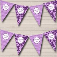 Cadbury Purple Personalised Birthday Bunting Party Banner