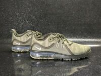 Nike Air Max Sequent 3 Green 'Camo' Camouflage Running Men's Size 9.5 NEW