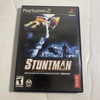 Stuntman PLAYSTATION 2 (PS2) Action / Adventure (Video Game) Complete Free Ship