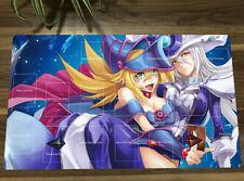NEW Yu-Gi-Oh! Playmat Dark Magician Girl Silent Magician TCG CCG Game Mat Gift