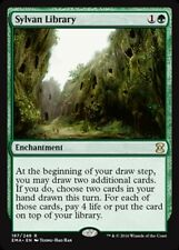 Sylvan Library x1 Magic the Gathering 1x Eternal Masters mtg card