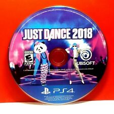 Just Dance 2018 (Sony PlayStation 4, 2017) Disc Only # 30025