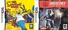 the simpsons game & Undercover Dual Motives    ds pal