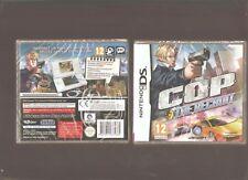 Rarissime !!! C.O.P. The Recruit : Grandiose sur DS/DSi/3DS/2DS. NEUF Blister