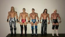 Bulk Lot Of 5 WWE Wrestling Action Figures