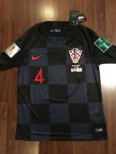 8713f60cb07 Nike Croatia World Cup Semi-Finals 2018 Ivan Perisic #4 Jersey size Small  only