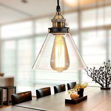 Glass Ceiling Lamp Bedroom Vintage Pendant Light Kitchen Lights Home Lighting