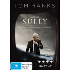 SULLY-Tom Hanks-DVD-Region 4-New AND Sealed