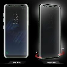Privacy Tempered Glass Screen Protector FULL COVERAGE For Samsung Galaxy S8 Plus