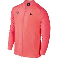 Nike Court Rafa Rafael Nadal Men's Tennis Jacket - 856465 667 Hot Punch (Pink)