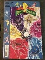 Boom Studios Mighty Morphin Power Rangers #27 Variant Shattered Grid