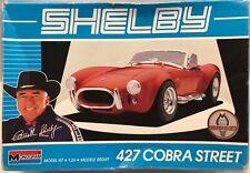Monogram 1/24 Shelby 427 Cobra Street Plastic Model Kit 2798 New damaged Box