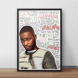 Dave Poster / Print / Wall Art A3 / Santan Dave / Psychodrama / Location / Rap