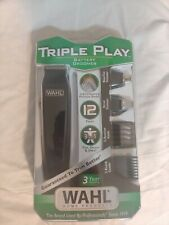 Wahl Triple Play Battery Groomer Clipper new in box