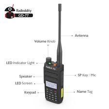 Radioddity GD-77 Dual Band Dual Time Slot DMR Digital Analog Walkie Talkie Cable