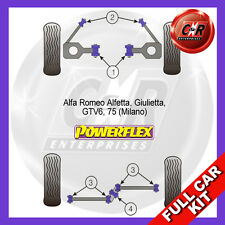 Alfa Romeo 75 (Milano) Powerflex Complete Bush Kit