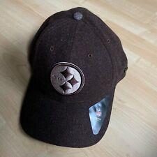 Pittsburgh Steelers New Era Wool Blend 55% Poly/ 45% Wool Cap hat Brown XL