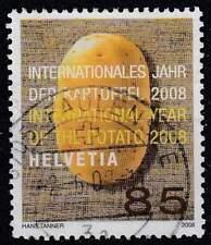 Zwitserland 2008 gestempeld 2043 - Jaar van de Aardappel