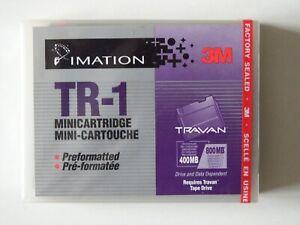 Imation 3M Travan-1 TR1/TR-1 Mini Data Tape/Cartridge 400/800MB Preformatted NEW