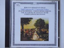 CHRISTOPHER HOGWOOD <>  Bach - Violinconcertos 1 & 2  <> VG+ (CD)