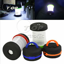 Portable Camping USB LED Hiking Night Light Lamp Collapsable Flashlight