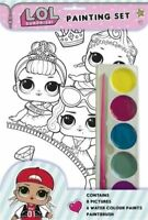 LOL Surprise Bambini Pittura Acquarelli Set 8 Ritratti, Colori & Pennello 3073