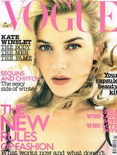 VOGUE 01/2003 KATE WINSLET Natalia Vodianova ELISE CROMBEZ Jessica Miller @VGC@