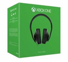 Microsoft Xbox One Stereo Headset Official Gaming Headphones Microphone Black