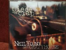 NEIL YOUNG - PROMO CD SINGLE 1994 - Piece Of Crap +2 Unreleased - RARE OOP
