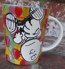 NEW PEANUTS 15 OZ CHARLIE BROWN COFFEE CUP GIBSON KLUNK! FUNKY MUG NWT SNOOPY